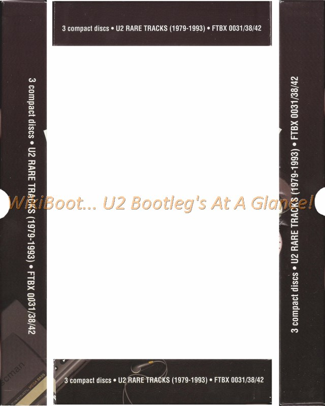 U2 CD Rare Tracks 1979 • 1993 Vol 4
