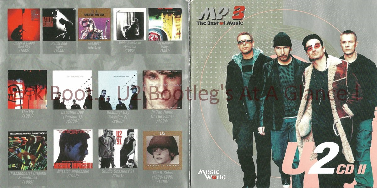 U2 MP3 CD MP3 The Best Of Music CD2